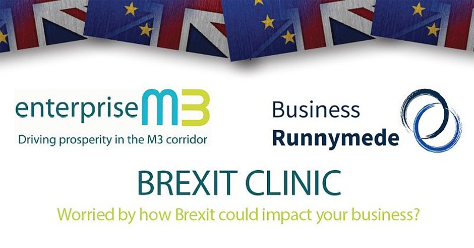 Brexit Clinic with Business Runnymede & EM3 Growth Hub